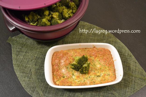Frittata broccoletti e crescenza (al forno)