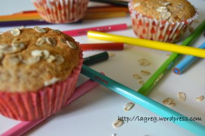 muffin integrali al miele 005