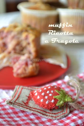 muffin ricotta e fragole (5)