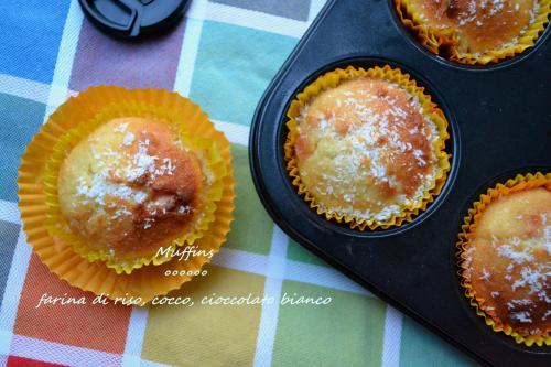 muffins cocco-ciocco-riso