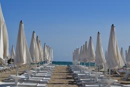 la spiaggia di Rosa Marina