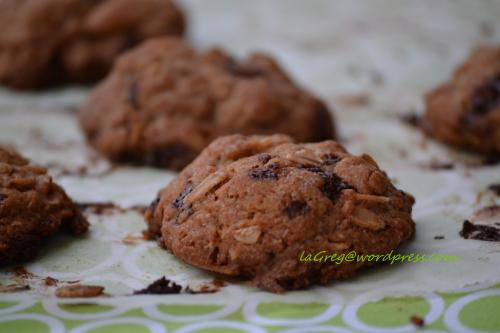 olive oil chocolate chunk cookies