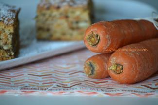 torta soffice di carote e noci