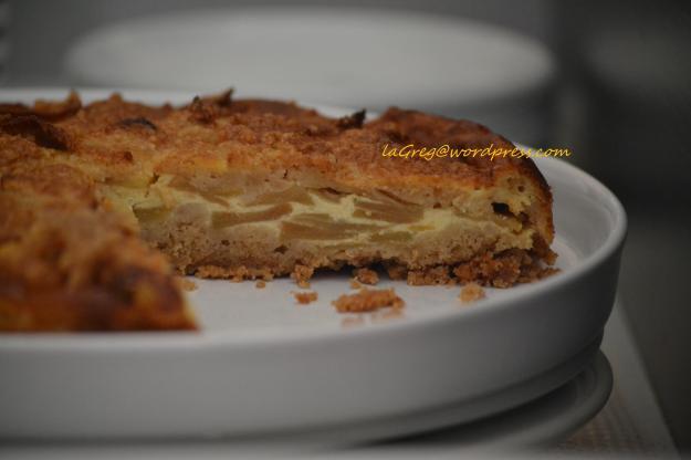 Torta di mele e briciole alla cannella