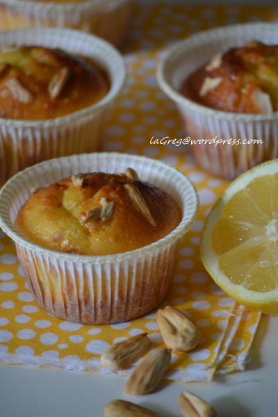 muffin mandorle e limone
