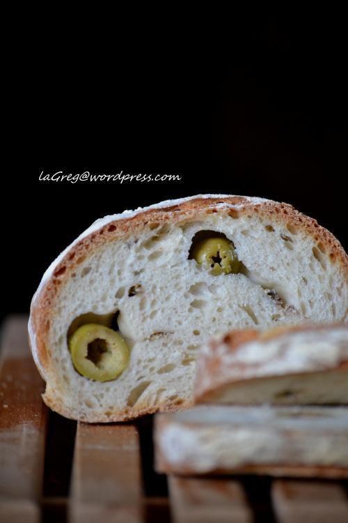 pane alle olive e acciughe con lm