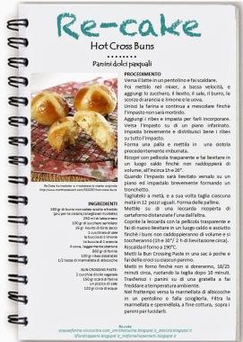 locandina Hot Cross Buns - re cake aprile