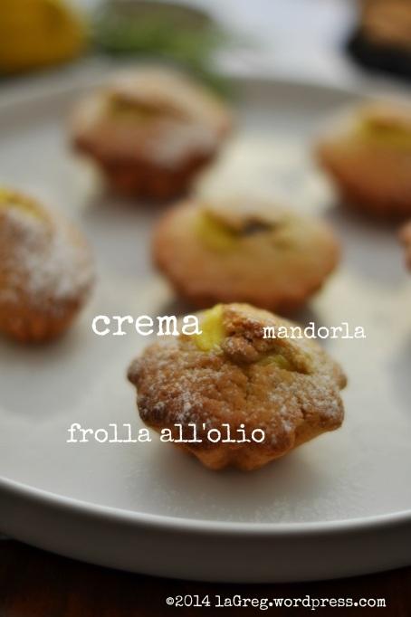 tortine di frolla all'olio con crema al rosmarino 2