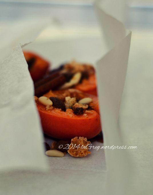 albicocche al cartoccio